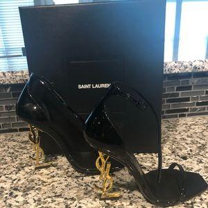 Authentic YSL black heels
